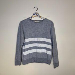 Maison kitsune Parisian jersey knit crewneck Small